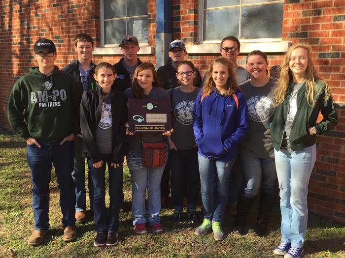 Academic Team Claims Regional Championship